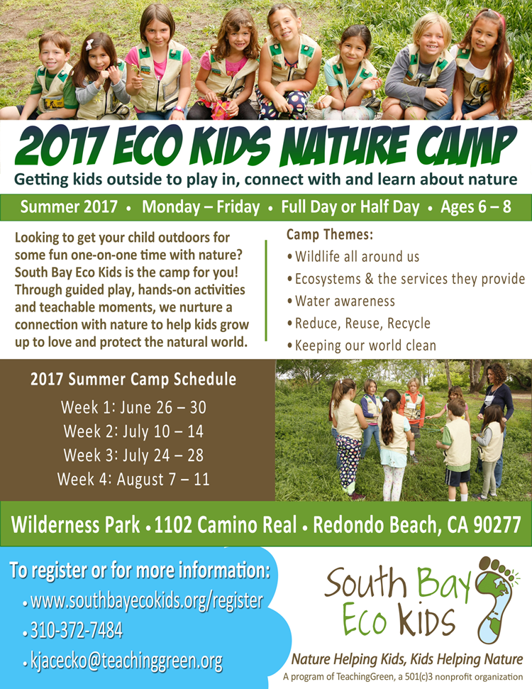 South Bay Eco Kids Nature Camp